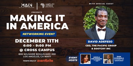 Diaspora Night - Making it in America tickets