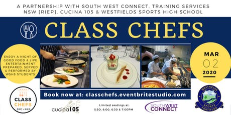 WSHS Class Chefs tickets