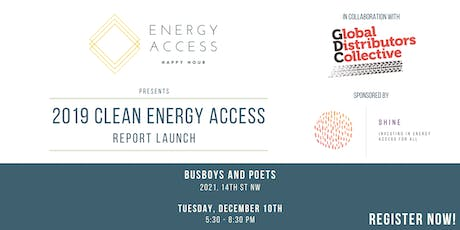 DC Energy Access Happy Hour hosts 2019 Clean Energy Access Report Launch tickets