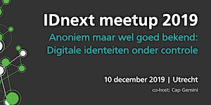 IDnext Meetup 2019 - Anonymous but still well-known –...