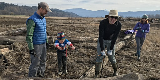 Plant it, Dig it, Do it Again! Steigerwald Lake NWR Planting