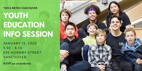 Youth Education Program Info Session - Vancouver tickets