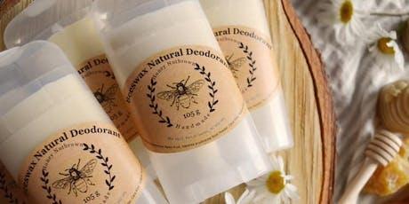 Creating Natural Deodorants with Kristen Cooper tickets
