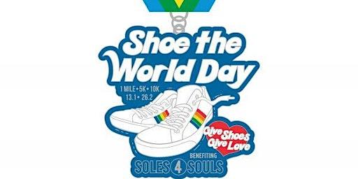 2020 Shoe the World Day 1M 5K 10K 13.1 26.2 –Little Rock