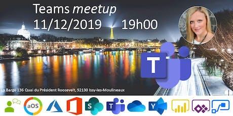 aOS Paris - Meetup Teams 11/12/2019 billets