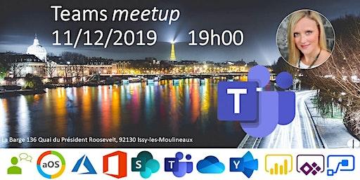 aOS Paris - Meetup Teams 11/12/2019