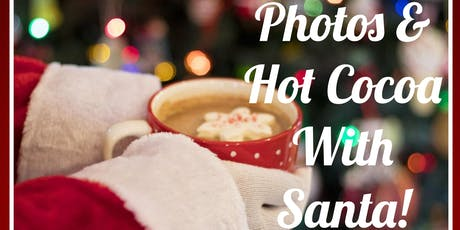 Photos & Hot Cocoa with Santa! (Two Dates & Two Locations) tickets