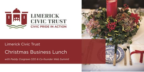 Annual Christmas Business Lunch with Paddy Cosgrave tickets