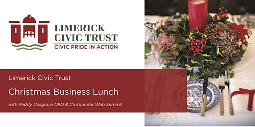 Annual Christmas Business Lunch with Paddy Cosgrave