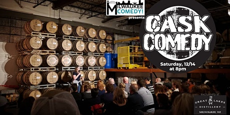Cask Comedy at Great Lakes Distillery tickets