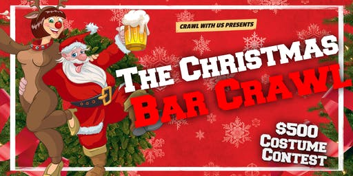 The Christmas Bar Crawl - San Antonio