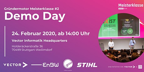 Gründermotor Meisterklasse#2 Demo Day Tickets
