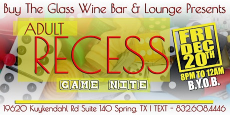 Adult Game Nite #HTX  tickets