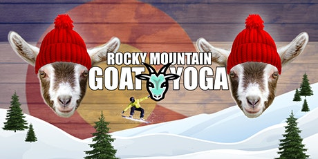 Goat Yoga - December 28th (RMGY Studio) tickets