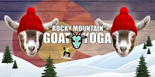 Goat Yoga - December 28th (RMGY Studio)