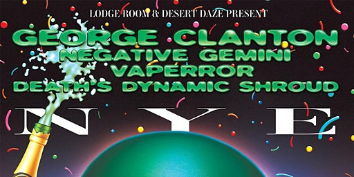 George Clanton NYE Spectacular @ Lodge Room Highland Park