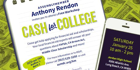 Cash for College Workshop tickets