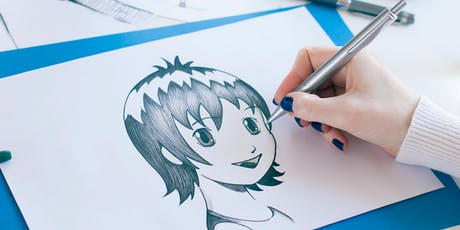 Youth Summer School Holiday Event: Manga Drawing Workshop tickets
