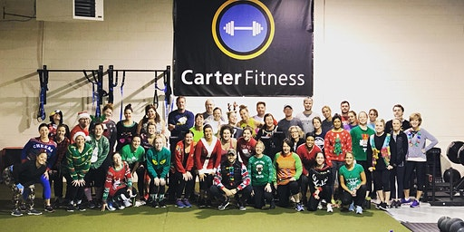 Ugly Christmas Sweater Sweat session