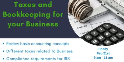 TAXES AND BOOKKEEPING FOR YOUR BUSINESS