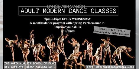 Adult Modern Dance Classes tickets