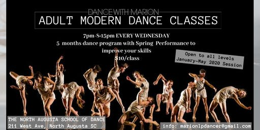 Adult Modern Dance Classes