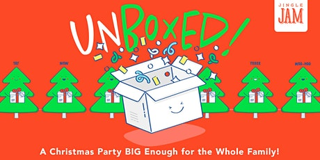 "Jingle Jam 2019   ""Unboxed"" tickets"