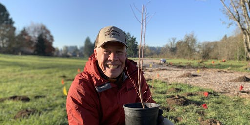 Dig it, Plant it, Do it Again! Sandy River Delta Volunteer Planting