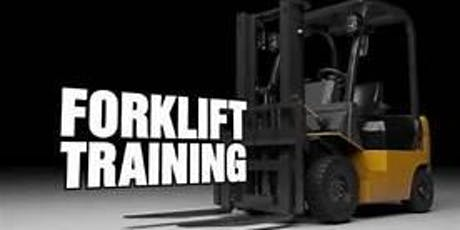 Forklift Training Course tickets