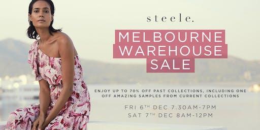 s t e e l e . Melbourne Warehouse Sale