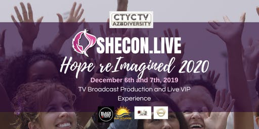 SheCon Live December 6th and 7th (2 Locations read Details)