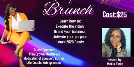 Pumps and Prepping for Purpose 2020- All About My Business Brunch tickets