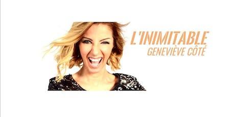 En spectacle Geneviève Côté tickets
