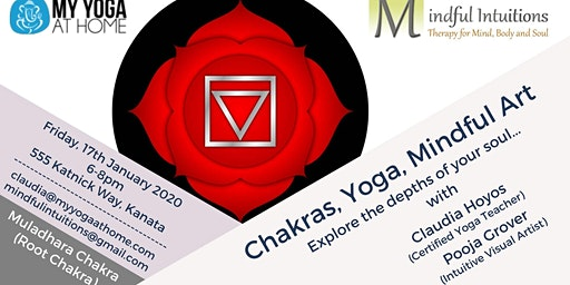 Chakras, Yoga, Mindful Art Workshop 1