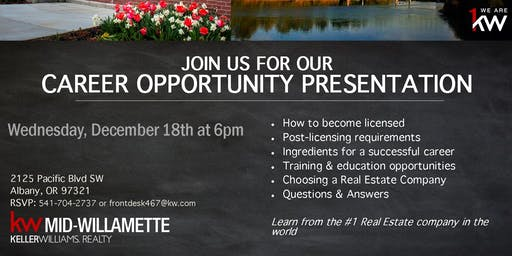 Career Opportunity Seminar