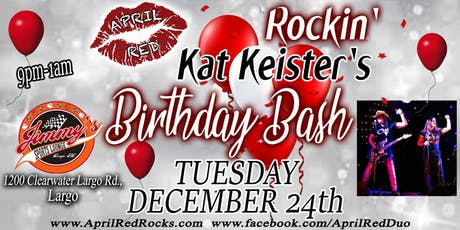 April Red ROCKS Kat's Birthday Bash at Jimmy's Sports Lounge! tickets