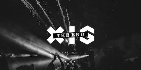 XIS The End ingressos