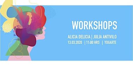 Taller de Arte Feminista con Julia Antivilo boletos