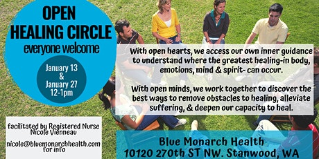 Open Healing Circle  Stanwood, WA tickets