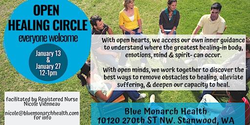 Open Healing Circle  Stanwood, WA