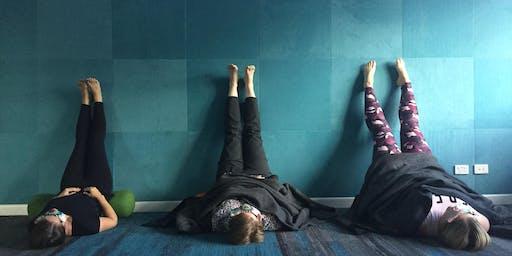 December 2 hour Restorative Yoga + Meditation