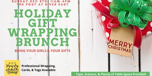 Gift Wrapping Brunch at The Post at River East