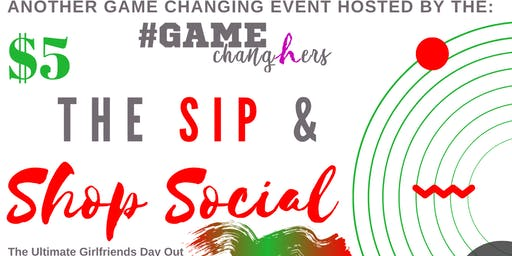 The SIP & SHOP Social 'Holiday Edition' (Celebrating Women in Business)