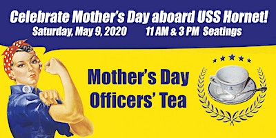 Mother's Day Officers' Tea 2020
