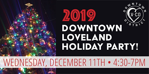 Downtown Loveland Holiday Party
