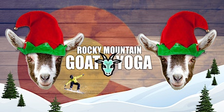 Christmas Goat Yoga - December 21st (RMGY Studio) tickets