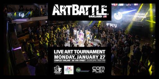 Art Battle Oakland - January 27, 2020