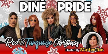 Red & Turquoise Christmas | Dinner + Drag Show Benefit tickets