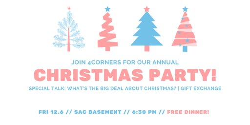 4Corners Christmas Party (All UCLA International Students Welcome)