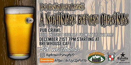 HCRFC- Nightmare Before Christmas Pub Crawl tickets